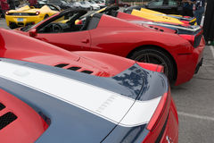 Ferrari 458 Speciale A Royaltyfri Bild