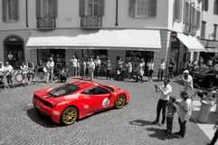 Ferrari 458 Speciale at Mille Miglia 2015 Stock Photos