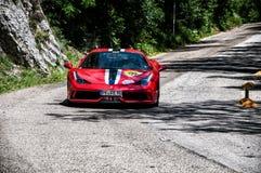 FERRARI 458 SPECIALE Stock Photos