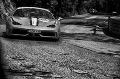 FERRARI 458 SPECIALE A Royalty Free Stock Photo