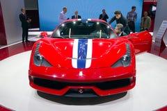 Ferrari 458 Speciale sports car Stock Images
