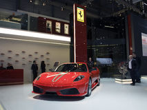 Ferrari Spider 16M in Geneva Royalty Free Stock Image