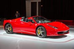 Ferrari 458 Spider Stock Image