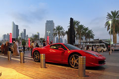 Ferrari 458 Spider Royalty Free Stock Images