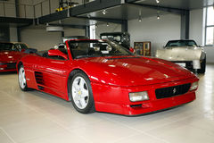 Ferrari 348 Spider V8  3405 cm3  1991 year Stock Photo