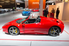 Ferrari 458 Spin Royalty-vrije Stock Afbeelding