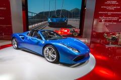 2015 Ferrari 488 Spin Royalty-vrije Stock Foto