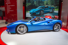 2015 Ferrari 488 Spin Stock Foto