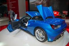 Ferrari 488 Spin - wereldpremière Royalty-vrije Stock Foto's