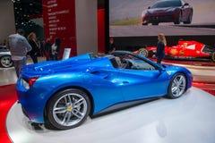 Ferrari 488 Spin - wereldpremière Royalty-vrije Stock Afbeelding