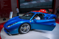 Ferrari 488 Spin - wereldpremière Stock Afbeelding