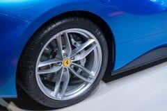Ferrari 488 Spin - wereldpremière Royalty-vrije Stock Afbeeldingen