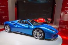 Ferrari 488 spindel 2015 Royaltyfri Bild