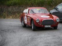 FERRARI 225 sport Berlinetta Vignale 1952 Arkivbild