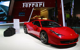 Ferrari sport car Royalty Free Stock Photo