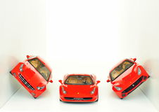 Ferrari sport cars: FF, F12 Berlinetta and 458 Italia Stock Photos