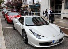 Ferrari sportbilar Arkivfoton