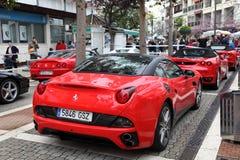 Ferrari sportbilar Royaltyfria Foton