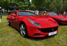 Ferrari sportbilar Royaltyfri Foto