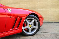 Ferrari sports car Royalty Free Stock Image