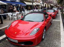 Ferrari sports cars Stock Photography