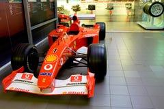 Ferrari-Sportwagenformel 1 Stockbild