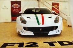 Ferrari, Sportwagens royalty-vrije stock afbeelding