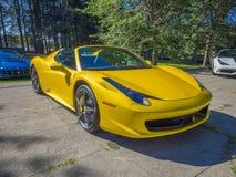 Ferrari 458 Spyder Lizenzfreie Stockfotografie