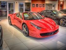 Ferrari 488 Spyder Royalty Free Stock Photo