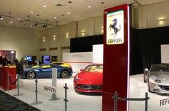 Ferrari stand 2015 Royalty Free Stock Photography
