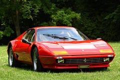 Ferrari stellte am Schloss Loucen aus Tschechische Republik am 7. Juli 2012 Stockfoto