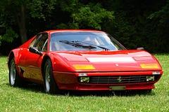 Ferrari stellte am Schloss Loucen aus Tschechische Republik am 7. Juli 2012 Lizenzfreie Stockbilder