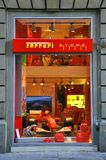 Ferrari store in Italy  Royalty Free Stock Image