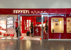 Ferrari Store Royalty Free Stock Photography