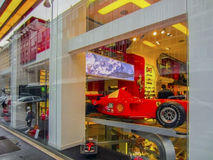 Ferrari Store in Milan Royalty Free Stock Images