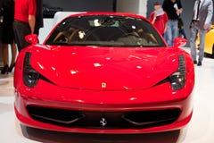 Ferrari su sessantatreesimo IAA Immagini Stock Libere da Diritti