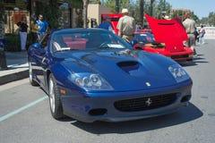 Ferrari Superamerica car on display Royalty Free Stock Image
