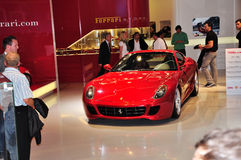 Ferrari sur IAA Francfort 2011 Image libre de droits