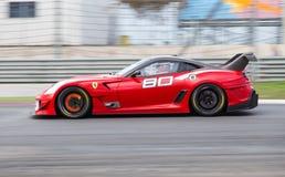Ferrari tävlings- dagar royaltyfri foto