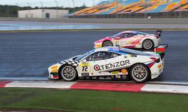 Ferrari tävlings- dagar Royaltyfria Bilder