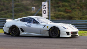 Ferrari tävlings- dagar Fotografering för Bildbyråer