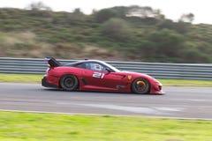 Ferrari tävlings- dagar Arkivfoton