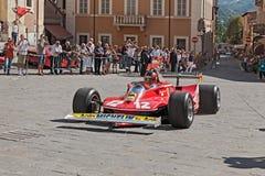 Ferrari 312 T4 ha appartenuto a Gilles Villeneve fotografie stock