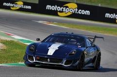 Ferrari-Tag Ferrari 2015 599 XX an Mugello-Stromkreis Lizenzfreie Stockfotografie