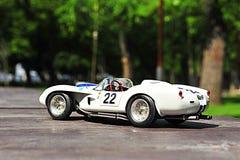 Ferrari Testa Rossa Pontoon Fender racing car. Vintage race car from 1958 from the italian producer Ferrari Stock Photo
