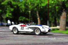 Ferrari Testa Rossa Pontoon Fender racing car. Vintage race car from 1958 from the italian producer Ferrari Stock Photography