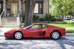 Ferrari Testarossa Royalty Free Stock Photography