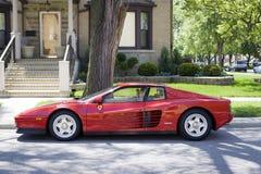 Ferrari Testarossa fotografia stock libera da diritti