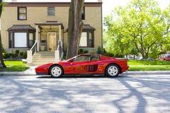 Ferrari Testarossa Stock Images