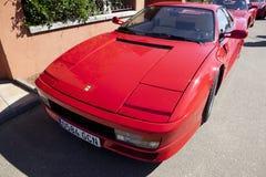 Ferrari Testarossa front Royalty Free Stock Photo